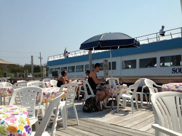 wainting ferry Sayville